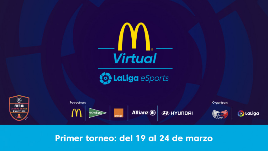 Más de 5.000 jugadores participan en el primer torneo de la McDonald's Virtual LaLiga eSports