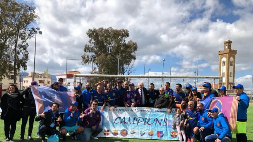 Tercer encuentro de las Peñas del FC Barcelona en Marruecos