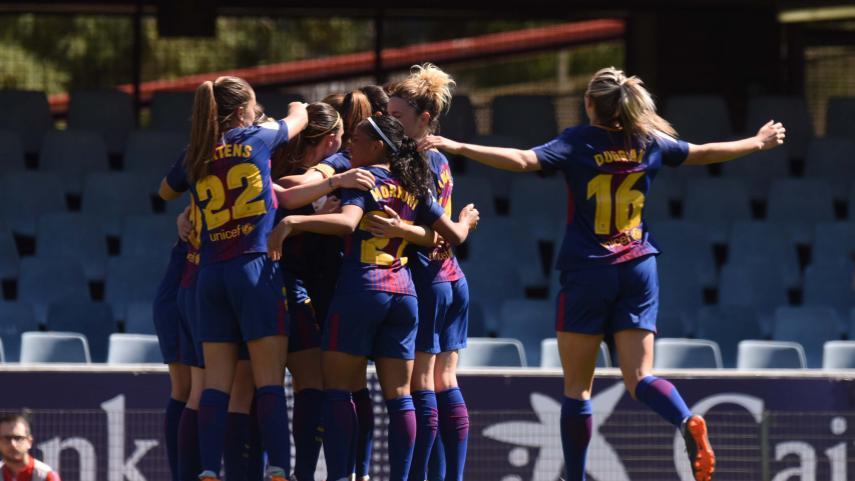 El Barcelona no le da opción al Granadilla