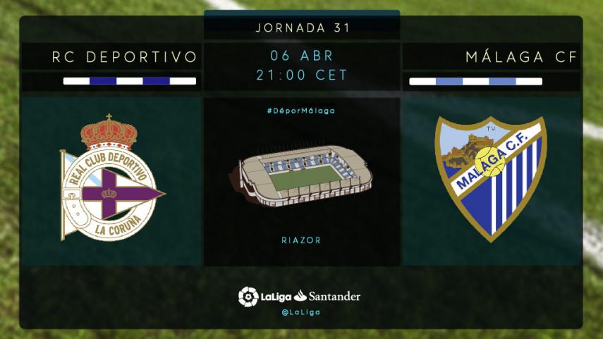 El Málaga busca su segunda victoria consecutiva