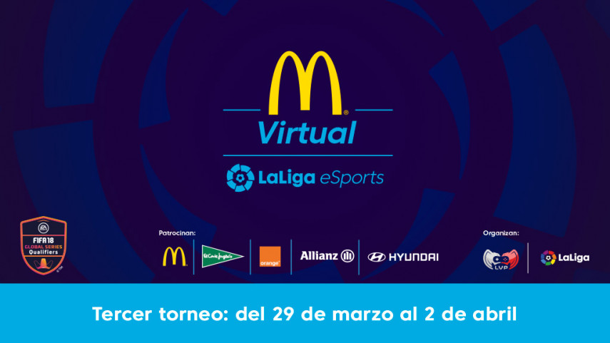 La fase online de la McDonald's Virtual LaLiga eSports se acerca a su momento decisivo