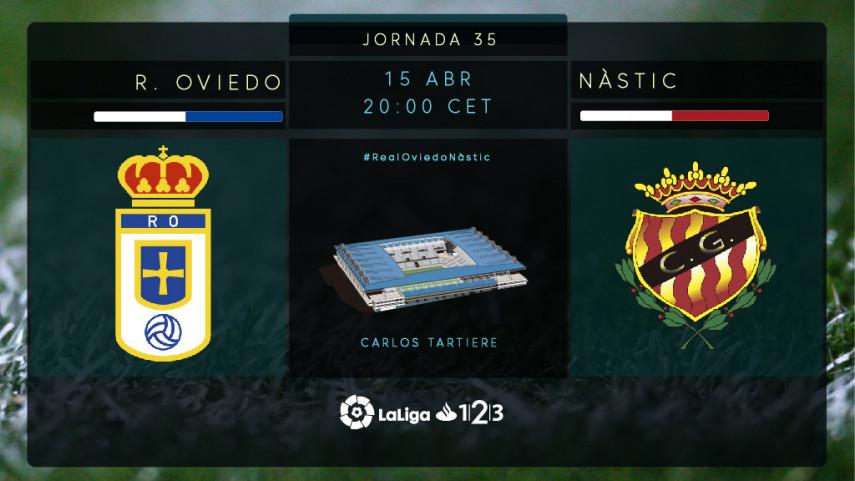 Oviedo y Nàstic quieren mantener la dinámica