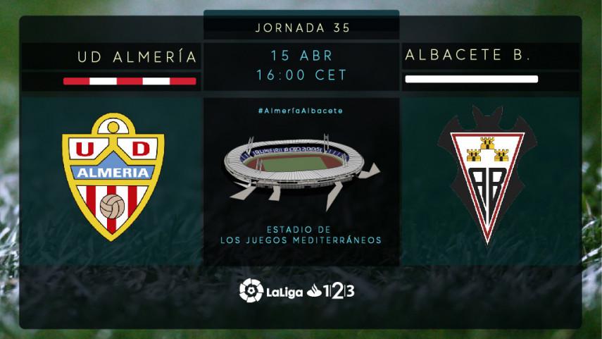 Almería y Albacete quieren poner tierra de por medio con el descenso