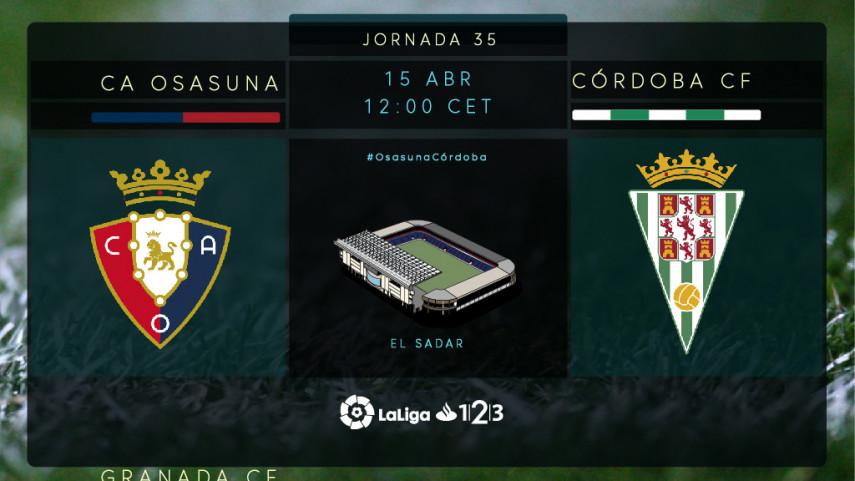 La necesidad aprieta para Osasuna y Córdoba