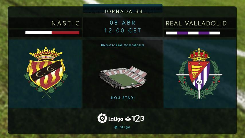 Nástic y Valladolid no quieren dar un paso atrás