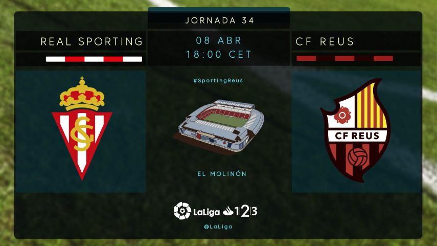El Sporting aspira a seguir siendo el líder de LaLiga 1l2l3