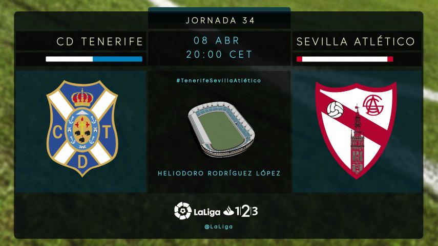 El Tenerife quiere prolongar su buen momento ante el Sevilla Atlético