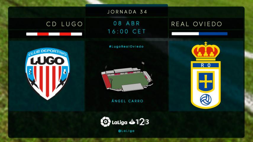 Lugo y Real Oviedo no quieren dejar escapar el tren del play-off