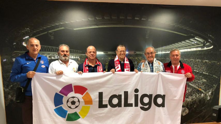 El derbi de las aficiones de Real Madrid y Atlético
