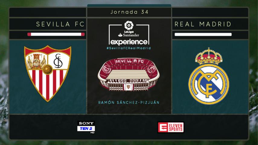 Sevilla se engalana para recibir a LaLiga Santander Experience