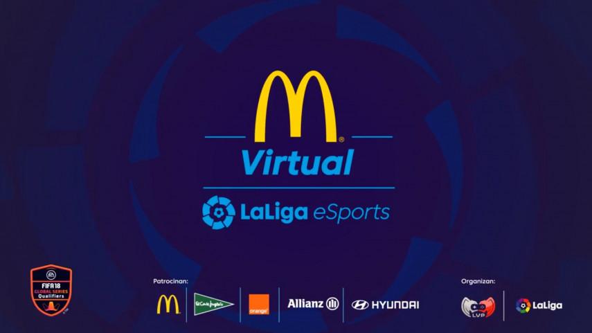 LVP y LaLiga arrasan en el estreno de la McDonald's Virtual LaLiga eSports