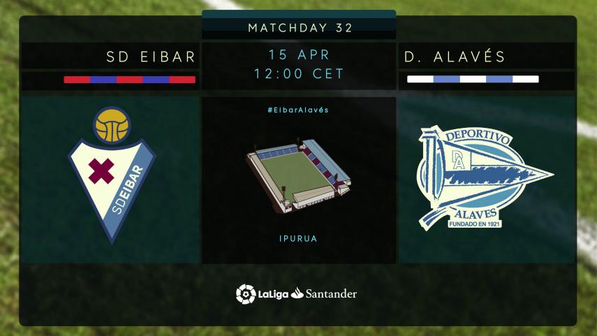 Eibar hope to return to winning ways