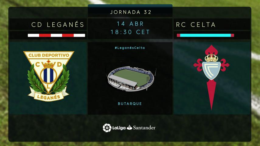 El Leganés, a enderezar el rumbo contra un ambicioso Celta