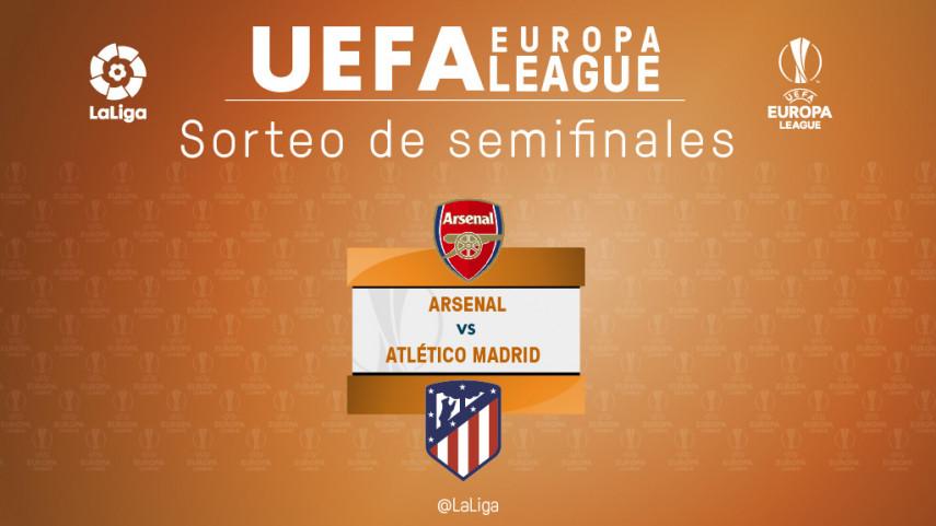 El Arsenal, rival del Atlético de Madrid en las semifinales de la Europa League