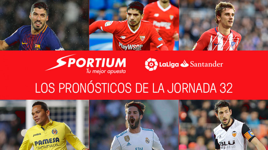 Las recomendaciones de Sportium para la jornada 32 de LaLiga Santander