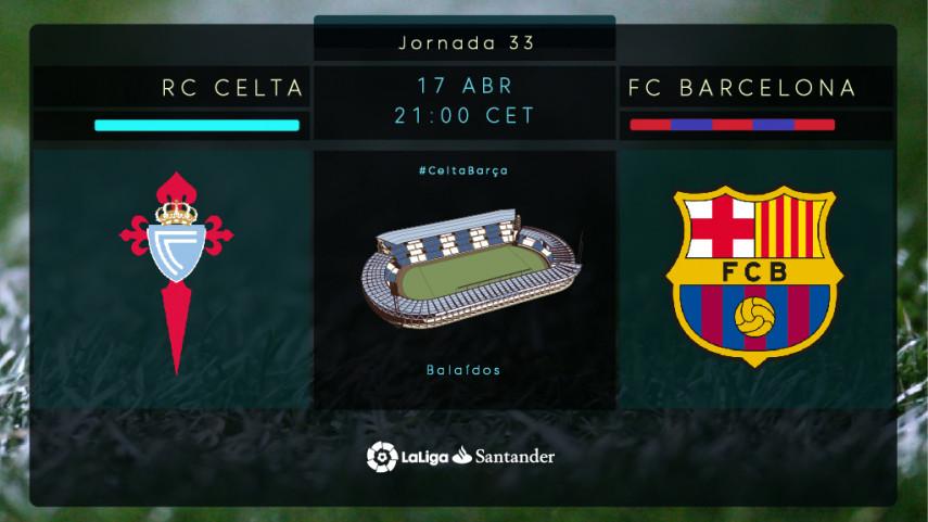 Un Aspas insaciable frente a un FC Barcelona lanzado