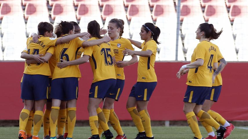 El Atlético Femenino continúa firme en el liderato