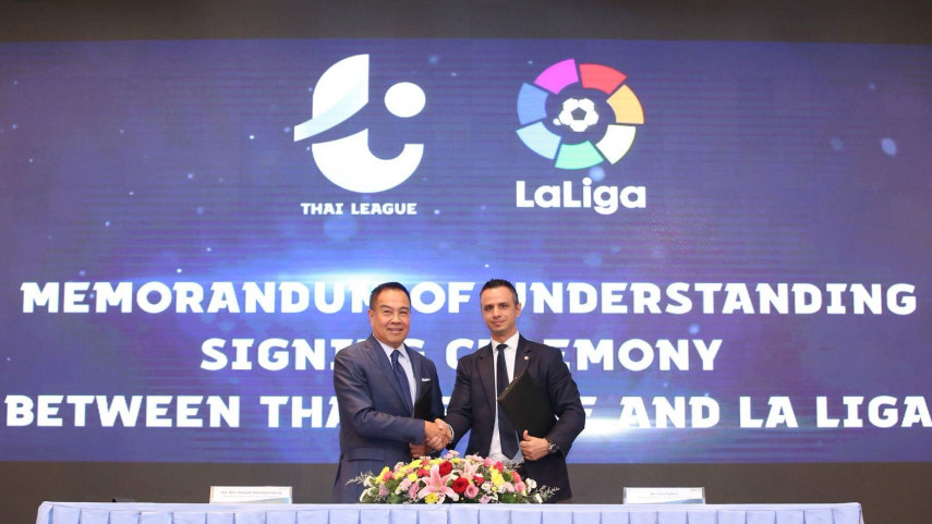 LaLiga y la Thai League se asocian en pro del desarrollo del fútbol