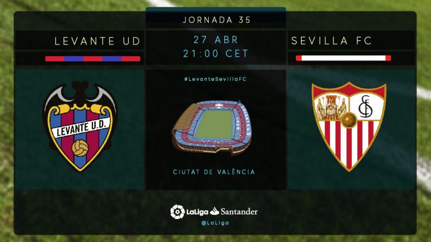 Levante y Sevilla buscan cumplir sus objetivos