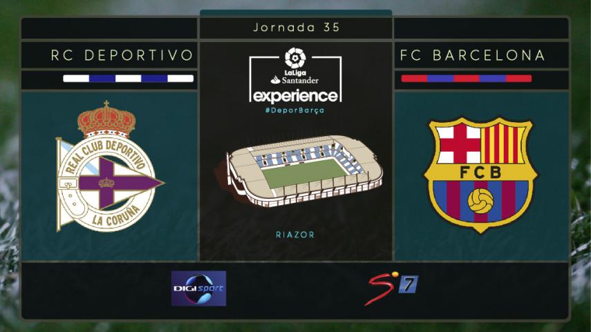 Dépor y Barcelona, preparados para recibir a aficionados de Digi Sport y SuperSport