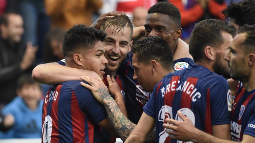 Una temporada histórica para el Huesca