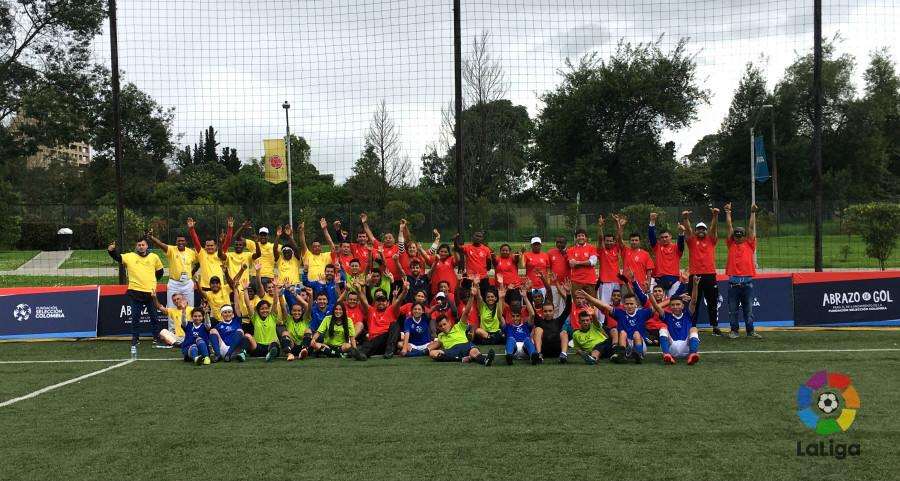 LaLiga colabora con el 'Proyecto Gol y Paz Colombia'
