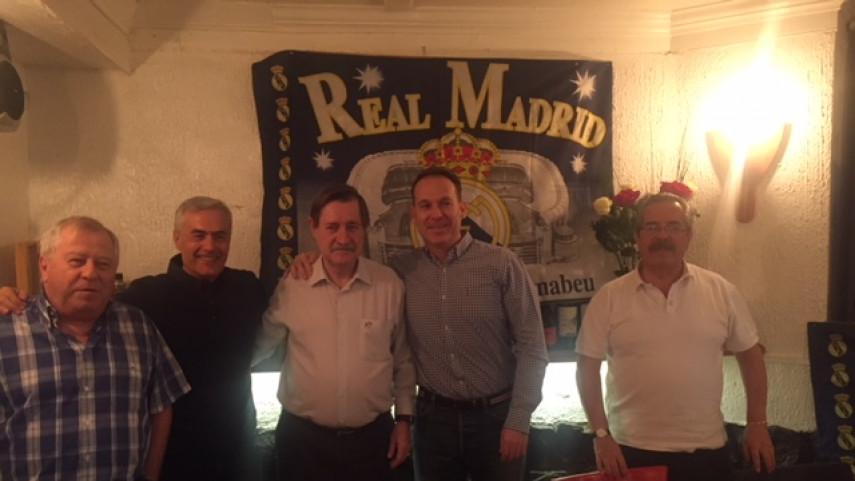 Peña Madridista 'Gran Santiago', animando al Real Madrid desde Chile