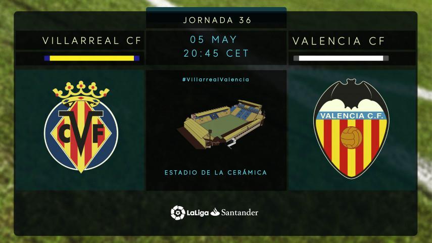 Emocionante derbi valenciano en el Estadio de la Cerámica