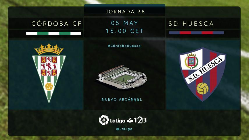 Tres puntos vitales para Córdoba y Huesca