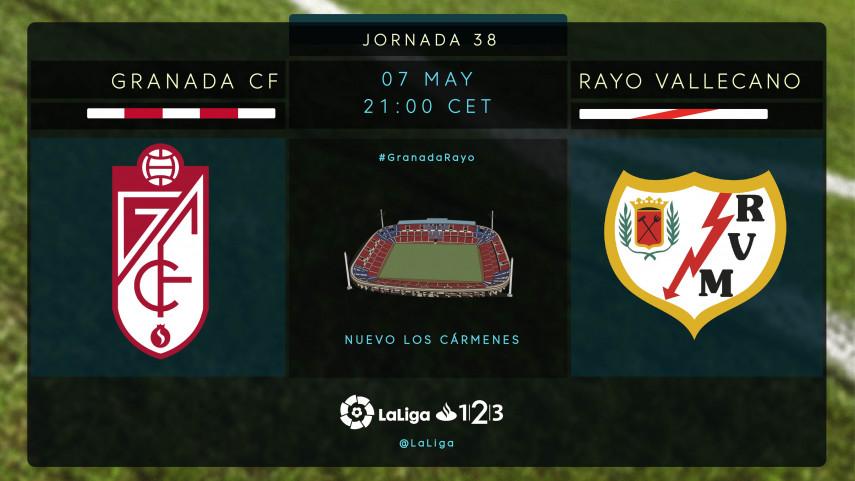 Granada y Rayo Vallecano no pueden permitirse errores