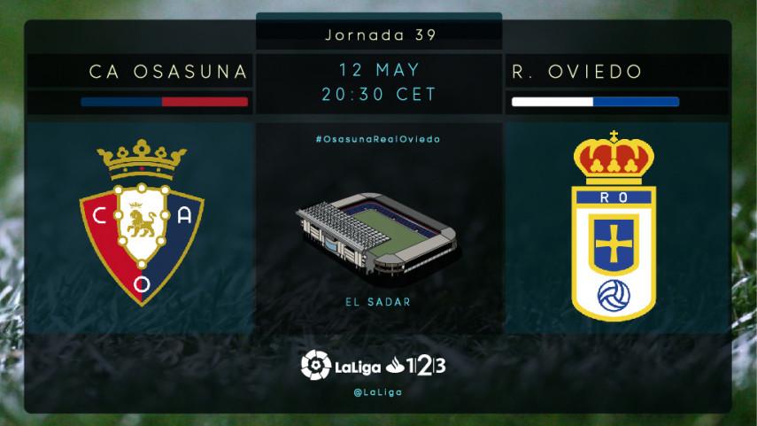 Osasuna y Oviedo no quieren perder el tren de los Play-offs
