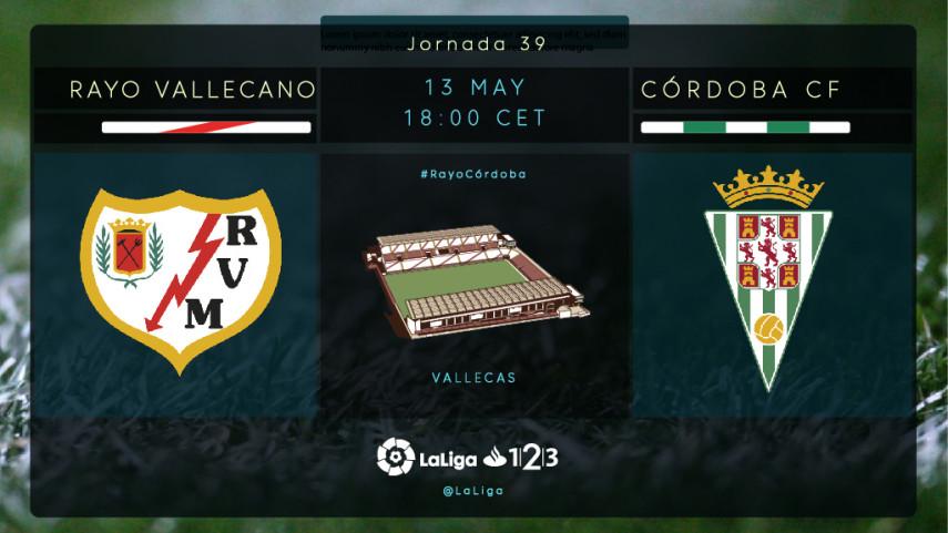 Rayo Vallecano y Córdoba, ante un partido clave