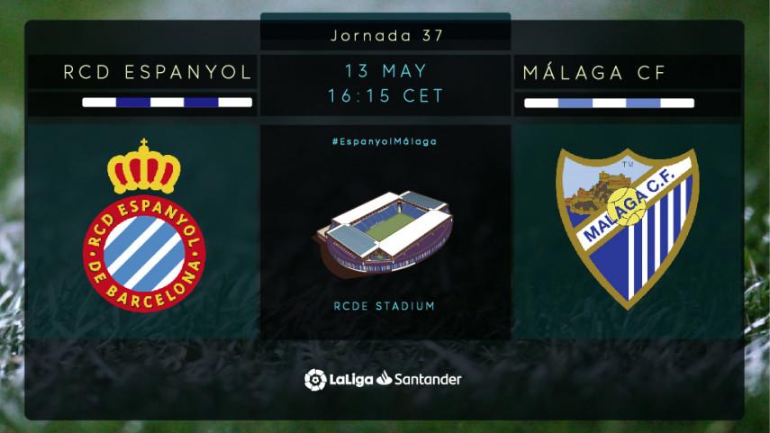 El Málaga mide al goleador Gerard Moreno