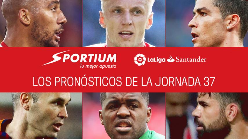 Las recomendaciones de Sportium para la jornada 37 de LaLiga Santander