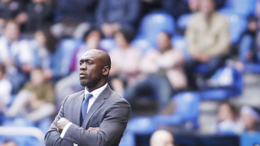 Clarence Seedorf deja de ser entrenador del RC Deportivo