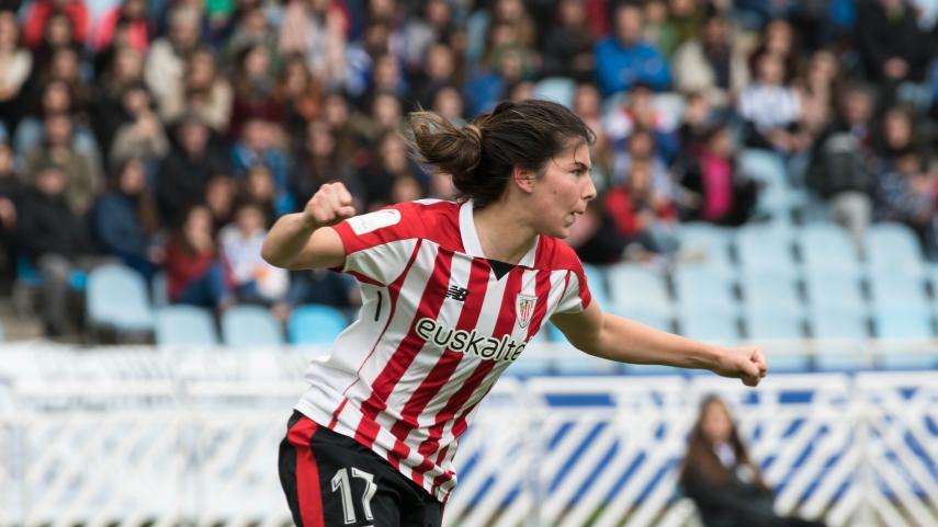 El Athletic se lleva un histórico derbi vasco femenino en Anoeta