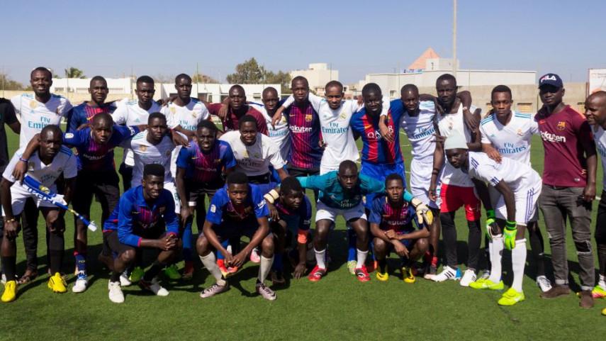 ElClásico se jugó también en Senegal