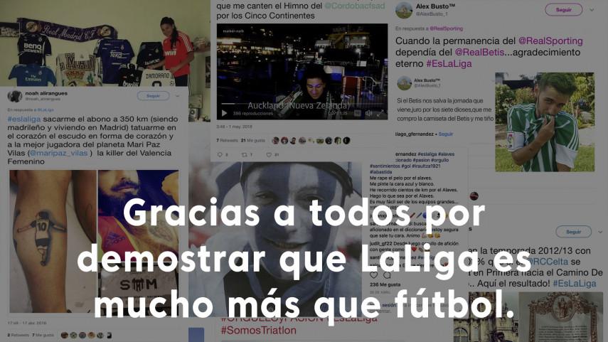 El concurso #EsLaLiga ya tiene ganadores