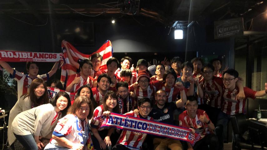 Japón vibró con la Europa League del Atlético