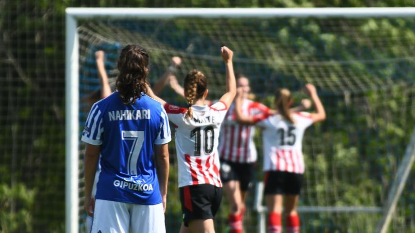 El Athletic se adelanta en la ida de los cuartos de la Copa de la Reina