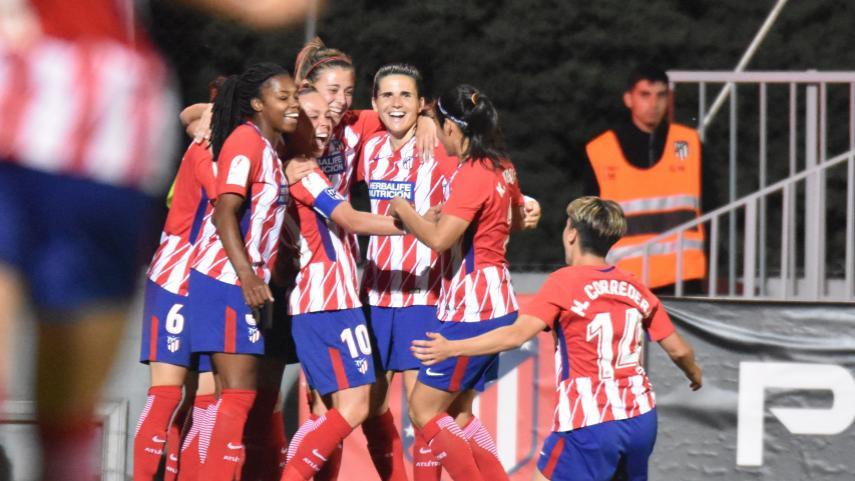Remontada del At. Madrid Femenino para tomar ventaja en la ida de cuartos de la Copa de la Reina