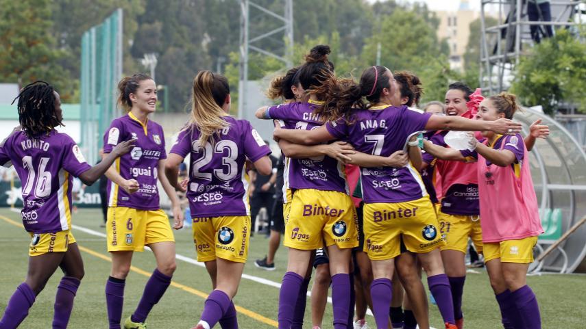 El Granadilla Egatesa logra una mínima ventaja ante el R.Betis Féminas