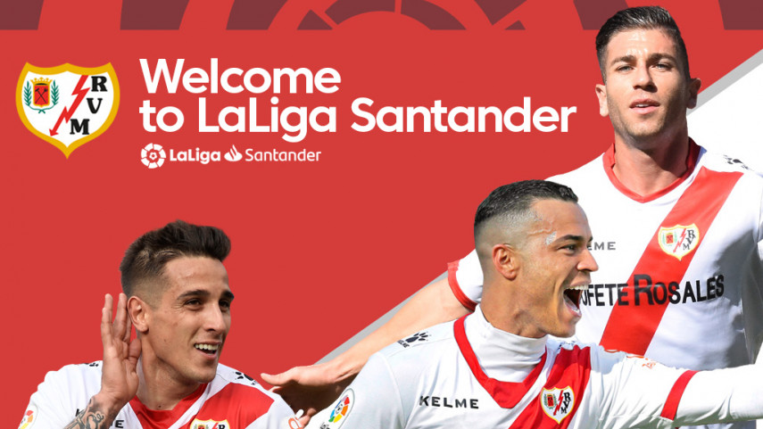 Rayo Vallecano secure return to LaLiga Santander