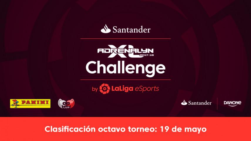 Ya se conocen los ocho ganadores de la fase online del Santander Adrenalyn Challenge by LaLiga eSports