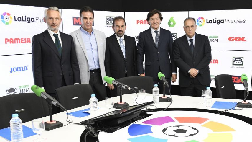 Onda Cero, LaSexta y MEGA se vuelcan con los torneos de LaLiga Promises en Villarreal y New Jersey