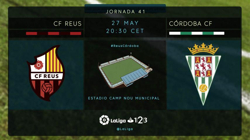El Córdoba se juega la permanencia en Reus