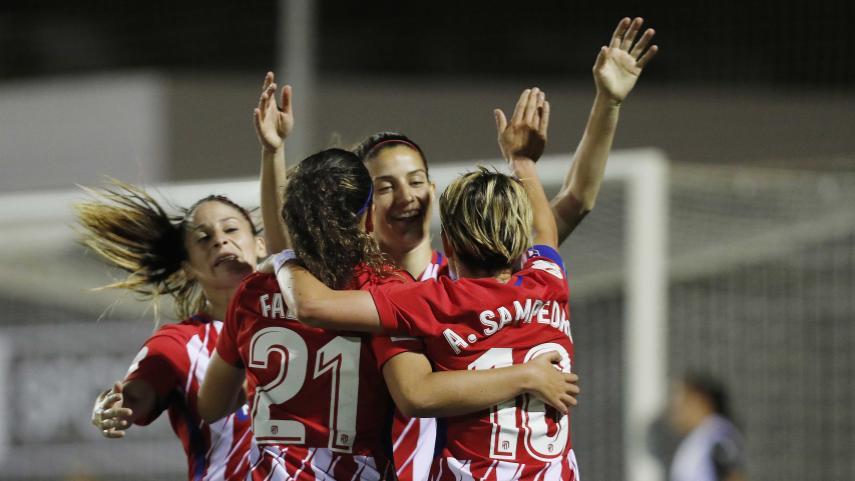 El At. Madrid Femenino, rumbo a semis de la Copa de la Reina