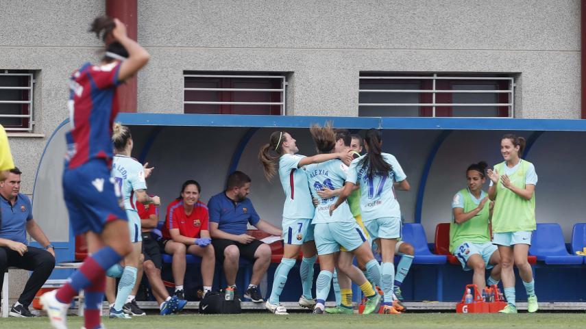 Alexia Putellas le da al Barça el pase a las semis de la Copa de la Reina