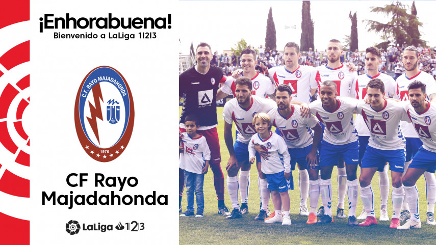 El CF Rayo Majadahonda, nuevo equipo de LaLiga 1l2l3