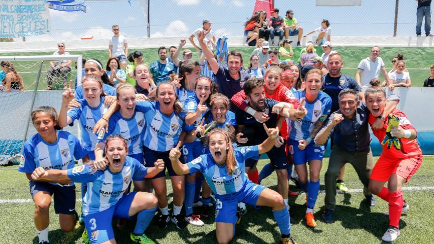 El Málaga CF Femenino ya es equipo de la Liga Iberdrola